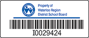 School Asset Labels