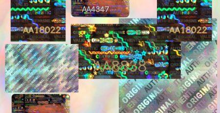 hologram-labels